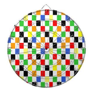 Color Checker Metal Cage Dartboard