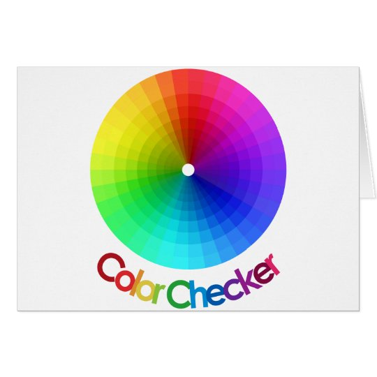 Color Checker Spectrum Card