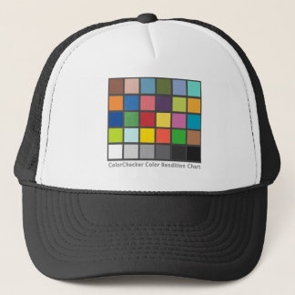 Color Checker Table Trucker Hat