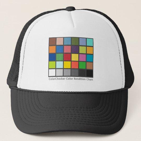 Color Checker Table Trucker Hat