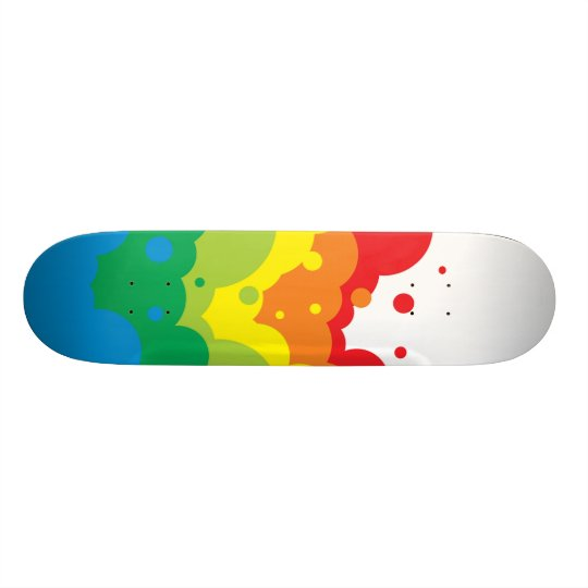 color chemical reactions skateboard