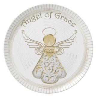 Color Choice: Christmas Angel of Grace Sunbeams Plate
