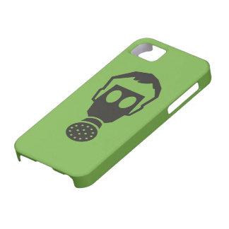 """Color Choice """"Gas Mask"""" Pictogram iPhone SE/5/5s Case"""