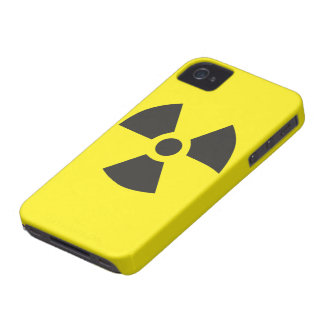 """Color Choice """"Radioactive"""" Pictogram Case-Mate iPhone 4 Case"""