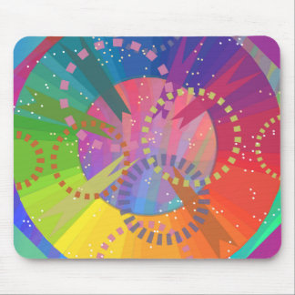 COLOR Circle Dash Mousepad