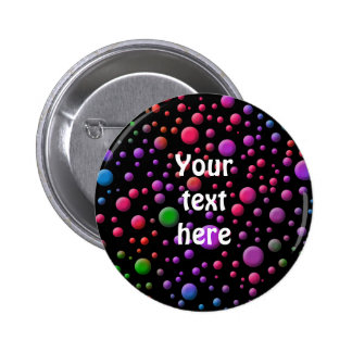Color Circles 2 Inch Round Button