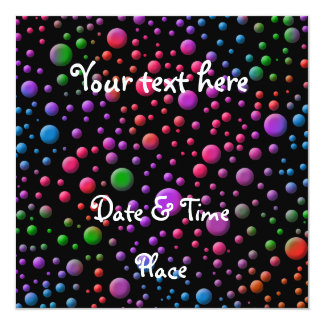 Color Circles Card