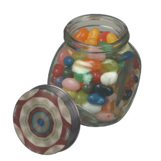 color circles from beach chair photo jelly belly candy jar