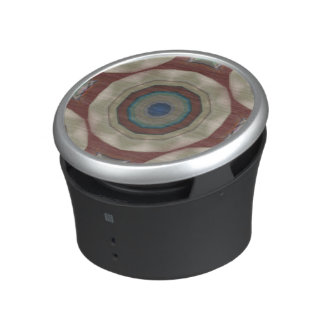 color circles from beach chair photo speaker