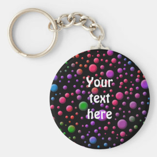 Color Circles Keychain
