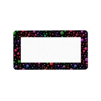 Color Circles Label