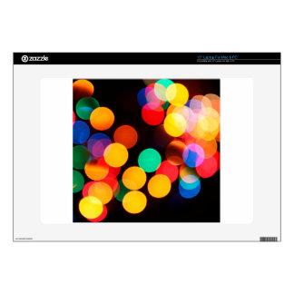 color circles laptop skin