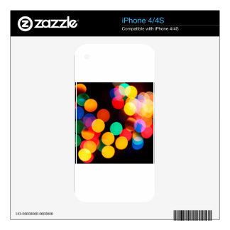 color circles skin for the iPhone 4