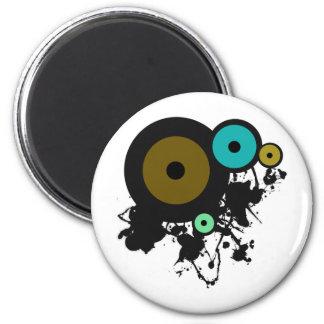 Color Circles! Unique graphic design! Magnet