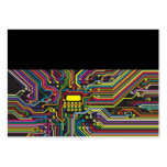 Color Circuit Board Electronic Template Business Card
