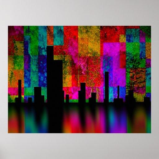 Color City Vibrance Print