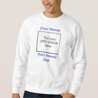 Color claro de la camiseta del papá del mascota jersey