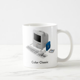 Color Classic, February 10, 1993 - May 16, 1994 Classic White Coffee Mug