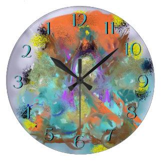 Color Cloud   Backward Clock