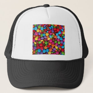 Color Coated Candy Trucker Hat