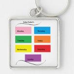 Color Code It - CricketDiane Designer Stuff Key Chain