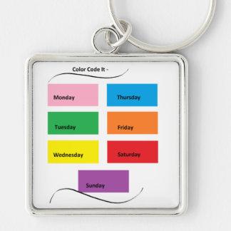 Color Code It - CricketDiane Designer Stuff Keychain