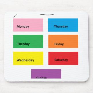 Color Code It - CricketDiane Designer Stuff Mouse Pad