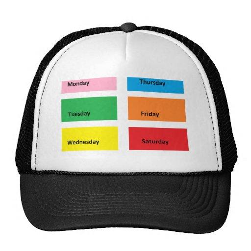 Color Code It - CricketDiane Designer Stuff Trucker Hat