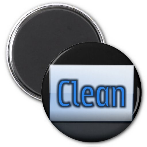 Color Code It Magnets & Stuff Clean CricketDiane 2 Inch Round Magnet