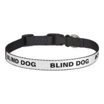 Color Coded Dog Temperament Collar - Blind Dog