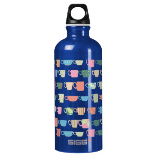 Color Coffee Cups Aluminum Water Bottle