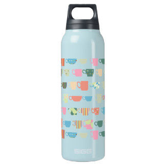 Color Coffee Cups Insulated Water Bottle