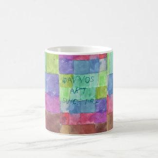 Color, Color, Color, Cup Dav´vos art since 1983 Taza