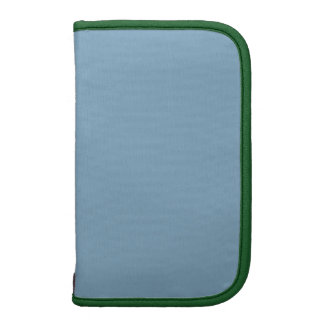 Color complementario básico del verde azul de la o organizador