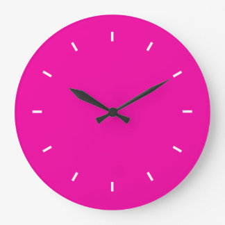 Color complementario durable fucsia brillante reloj