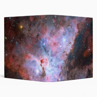 Color Composite Image of the Carina Nebula 3 Ring Binder