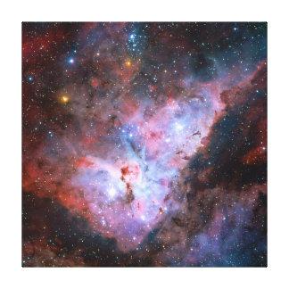 Color Composite Image of the Carina Nebula Canvas Print