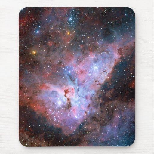 Color Composite Image of the Carina Nebula Mouse Pad