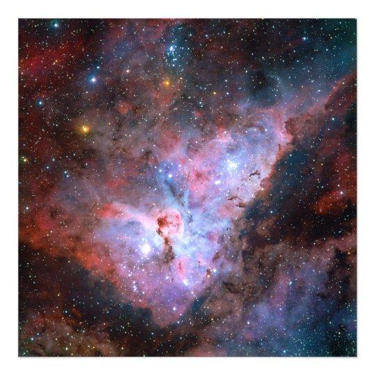 Color Composite Image of the Carina Nebula Photo Print