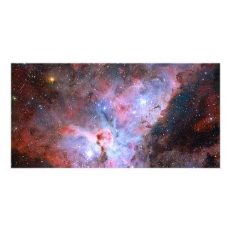 Color Composite Image of the Carina Nebula Photo Cards