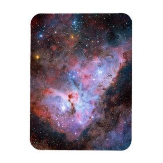 Color Composite Image of the Carina Nebula Rectangular Photo Magnet