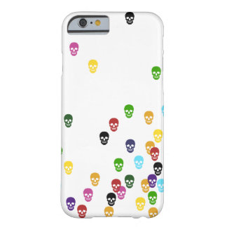 Color Confetti Skulls Barely There iPhone 6 Case