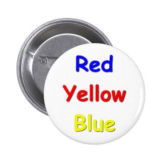Color Confusion Pinback Button