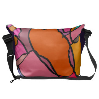 Color constellation courier bag