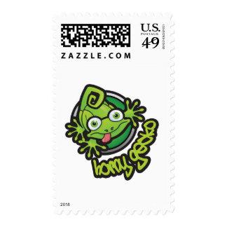 Color córneo del logotipo del Gecko 01