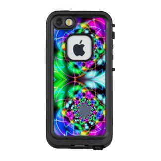 Color Corridor Reflection Phone Case