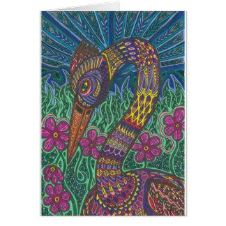 Color Crane Card