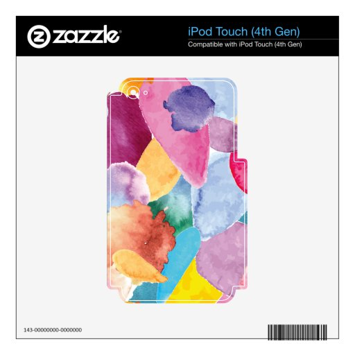 Color crash 2 decal for iPod touch 4G