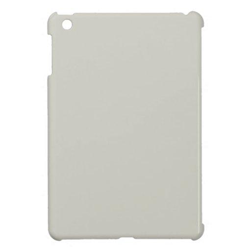 Color crema beige gris francés ligero solamente iPad mini cárcasas