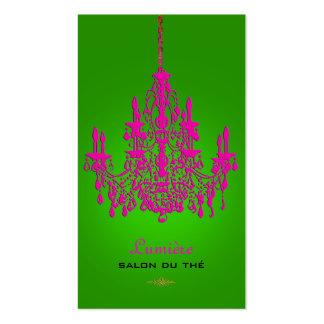 Color cristalino de las rosas fuertes tarjetas de visita